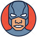 Captain America Warrior Superhero Icon