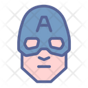 America Superhero Movie Icon