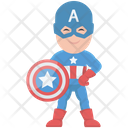 Superhero Captain America Marvel Comics Icon