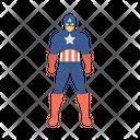 Captain America Super Hero Steve Icon