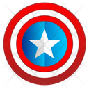 America Shield Guard Icon