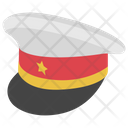 Captain Cap Sailor Hat Officer Hat Icon