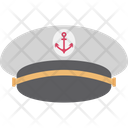 Captain Cap Navy Captain Hat Ship Captain Cap Icon