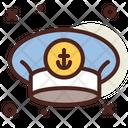 Captain Hat Captain Cap Army Cap Icon