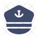 Captain Hat Marine Icon