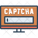 Captcha Technology System Icon