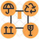 Caption Packing Service Icon