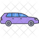 Car Station Wagon Icon
