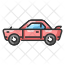 Car Ride Travel Icon