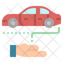 Car Investment Loan Icon