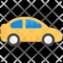 Car Yellow Taxi Icon