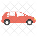 Economy Car Hatchback Icon