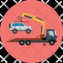 Car Load Crane Icon