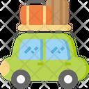 Car Transportation Baggage Icon