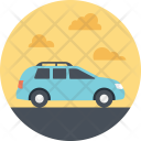 Family Trip Vacation Icon