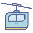 Car Railway Rope Icon