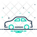 Car Conveyance Carriage Icon