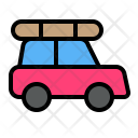 Car Transport Traveling Icon