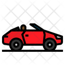 Car Convertible Transportation Icon