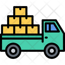 Car Truck Box Icon