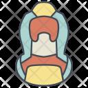 Car Seat Child Icon