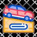 Race Car Rally Icon