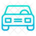 Car Icon in Gradient Style