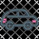 Car Retro Sedan Icon