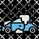 Car Snow Transportation Icon