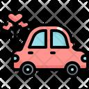 Car Wedding Marriage Icon