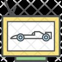 Car Racing Match Icon