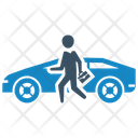 Car Office Sale Icon
