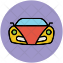 Car Hatchback Sports Icon