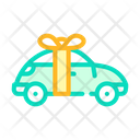Car Raffle Color Icon