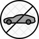 Car Avoid Ban Icon