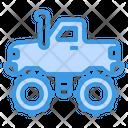 Car X Four Wheel Drive Icon