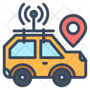 Car Autonomous Self Driving Icon