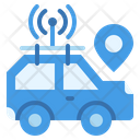 Car Autonomous Self Driving Icon