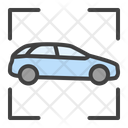 Car Recognition Artificial Intelligence Icon