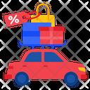 Car Sale Promotion Icon