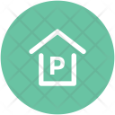 Car Parking P Icon