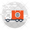 Car Delivery Fast Icon