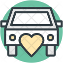 Car Married Couple Icon