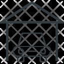 Car Porch Vehicle Icon