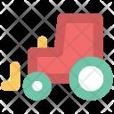 Car Carrier Golf Icon