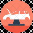 Car Jack Lifting Icon