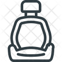 Car Seat Chair Icon