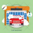Car Washing Mechanic Icon