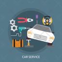 Car Service Mechanic Icon