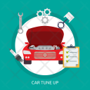 Car Tuneup Mechanic Icon
